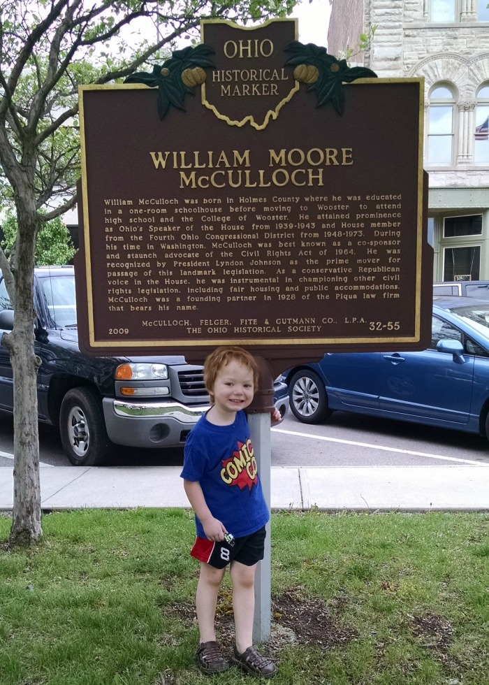 William Moore McCulloch and Lil' Red