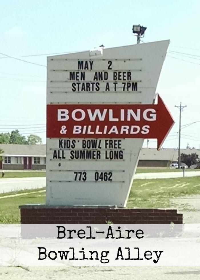 Brel-Aire Bowling Alley Piqua, Ohio