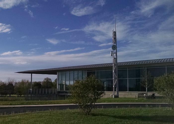 Edison Community College atrium