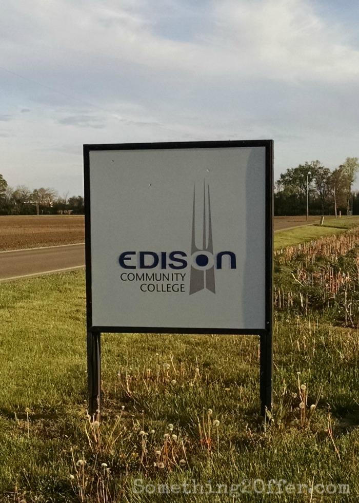 Edison Community College sign