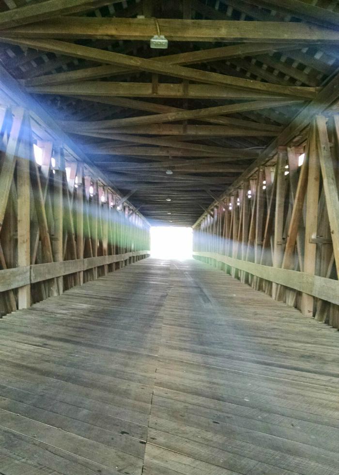 Eldean Bridge inside