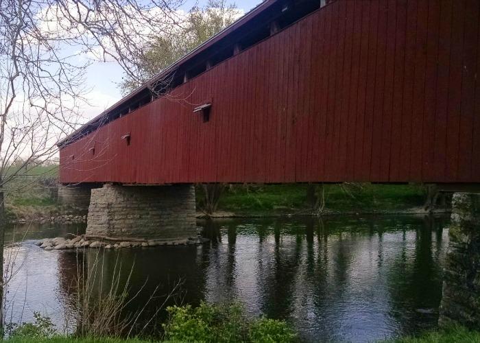 Eldean Bridge outside