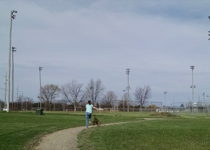 Pitsenbarger Sports Complex Path
