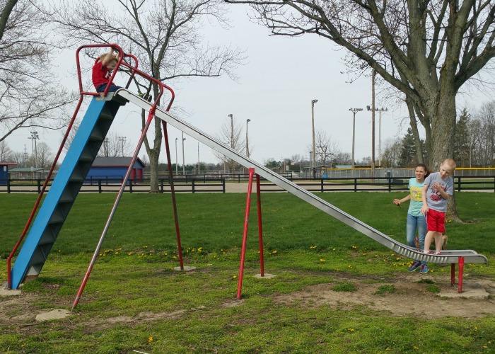 Pitsenbarger Sports Complex playground slide