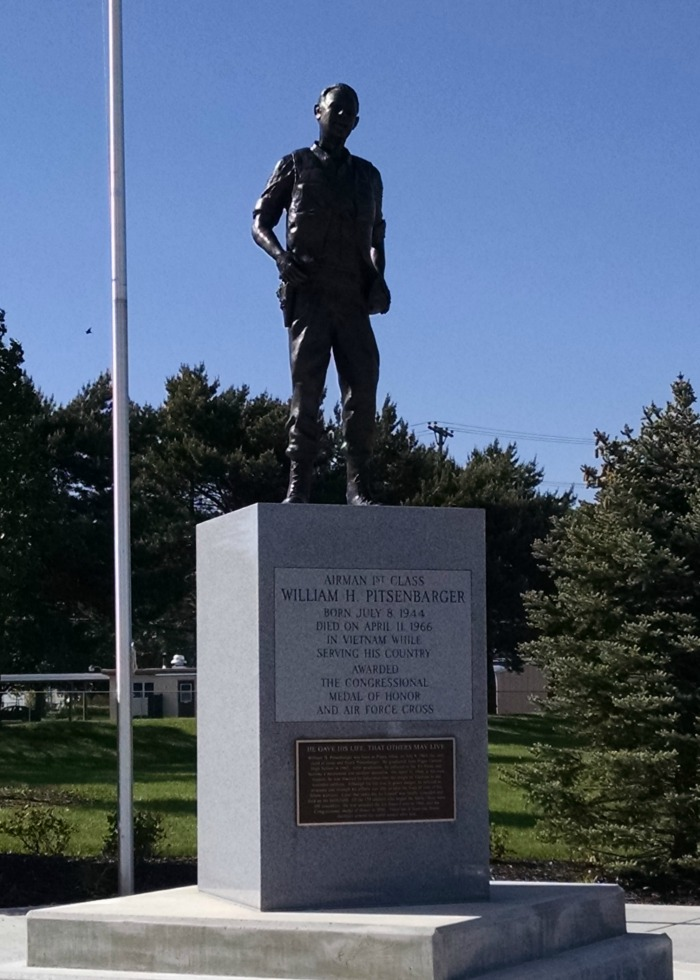 William H. Pitsenbarger Statue