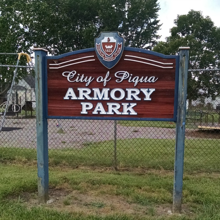 Armory Park Sign