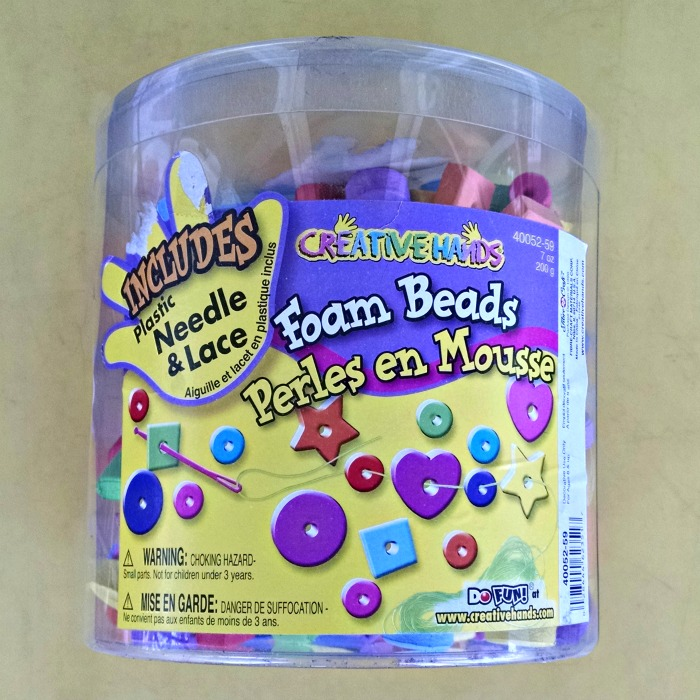 Foam Shape Beads