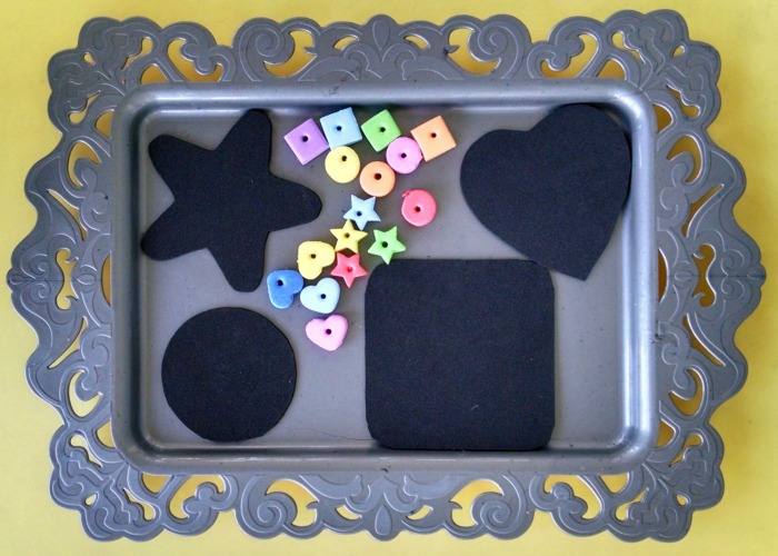 Foam Shape Sorting Activity Advanced
