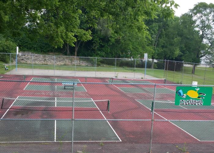 Pickleball Court Mote Park
