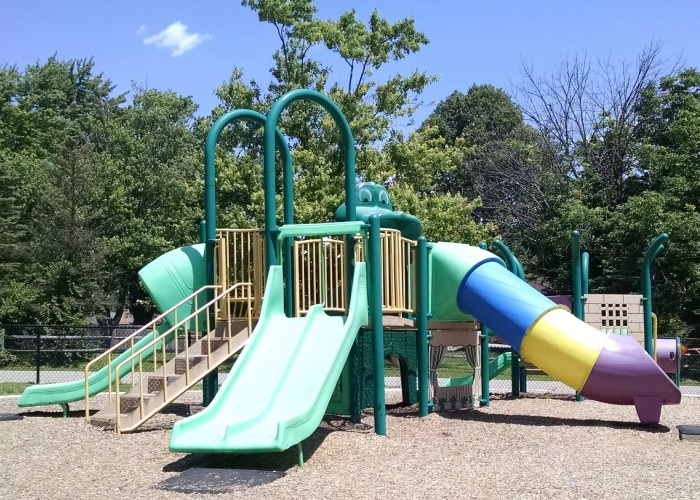 Shoup Park Main climber