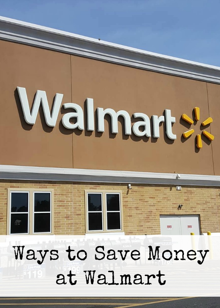 Ways to Save Money At Walmart