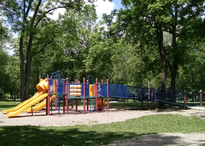 play structure at Young's Cove Tawawa