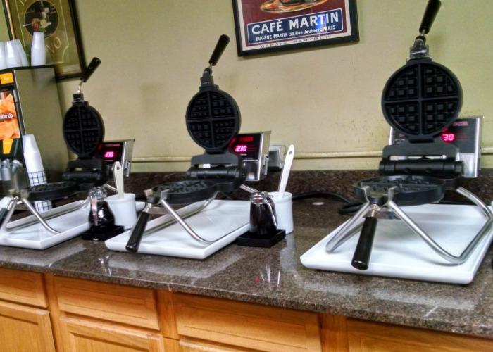 Comfort Inn Waffle irons