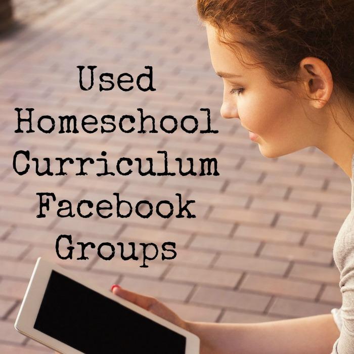 Used Homeschool Curriculum Facebook Groups