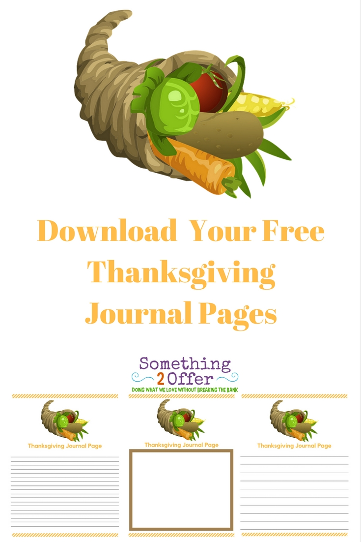 Download Your Free Thanksgiving Journal Pages PIN