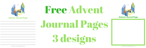 Free Advent Journal Pages