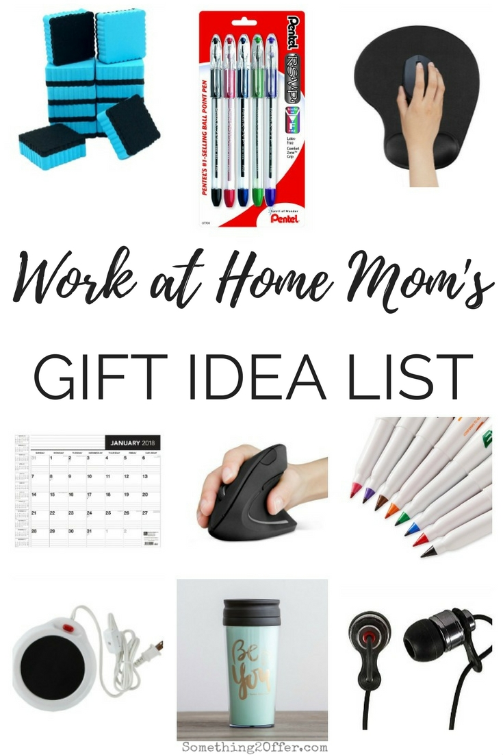 Gift Ideas for Work at Home Moms -