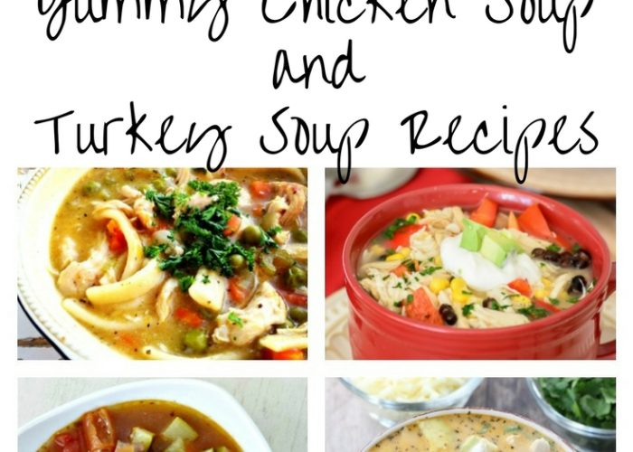 Chicken Soup and Turkey Soup Recipes
