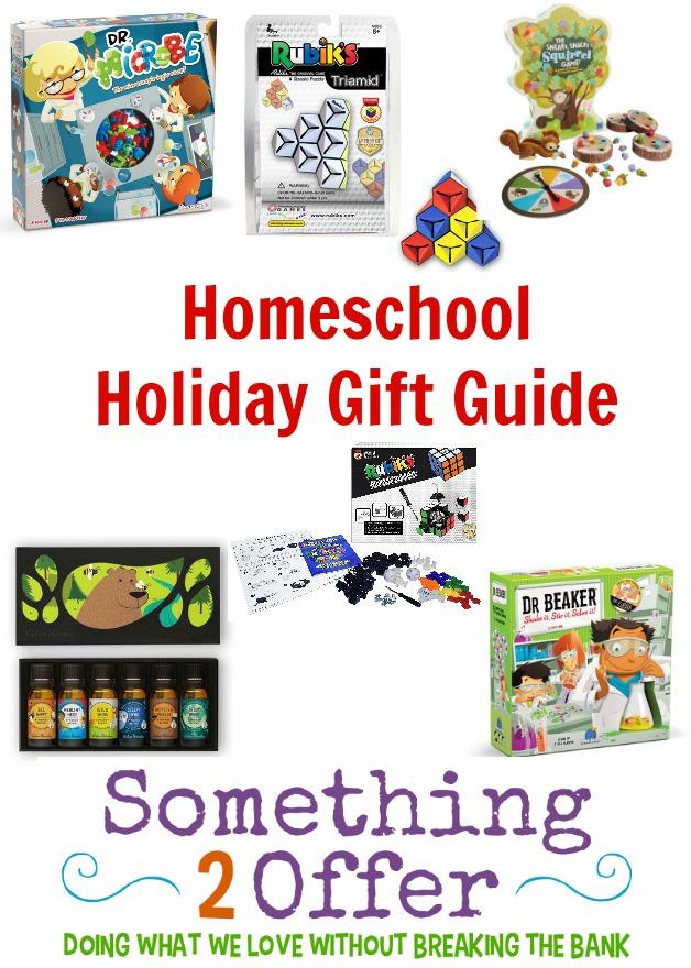 homeschool holiday gift guide