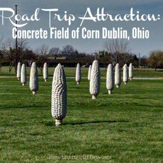 Road Trip Attraction Concrete Filed of Corn Dublin, Ohio