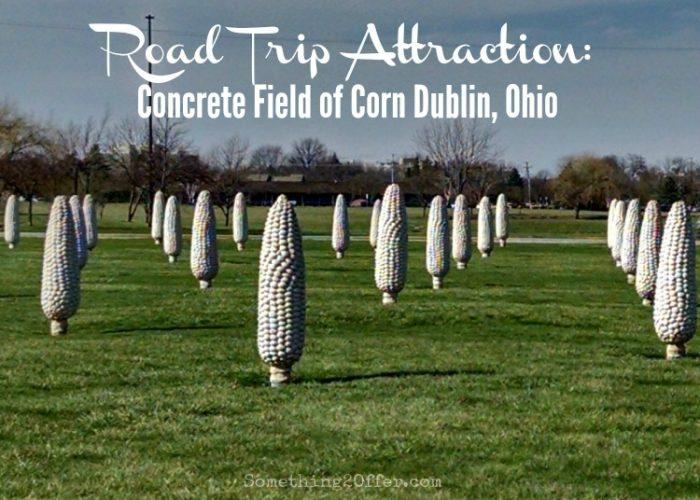 Road Trip Attraction: Concrete Field of Corn  Dublin, Ohio #OhioFindItHere #DublinCVB #expcols