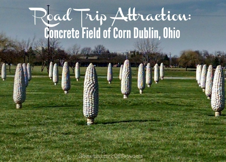 Road Trip Attraction Concrete Filed of Corn Dublin, Ohio