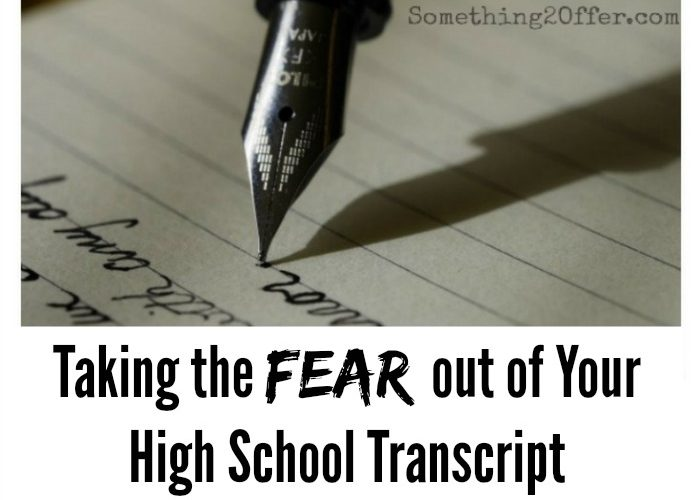 Tips for Your High School Transcript