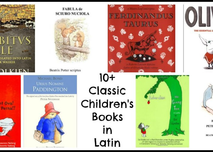 Classic Storybooks in Latin #ClassicalConversations #LearnLatin #CC