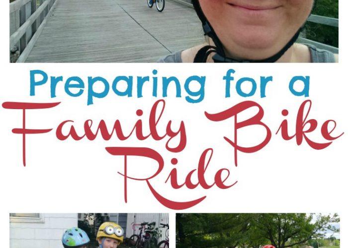 Preparing for a Family Bike Ride