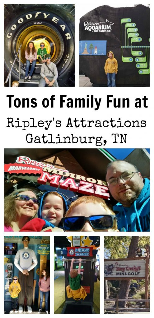 Tons of Family Fun at Ripley's Attractions Gatlinburg, TN