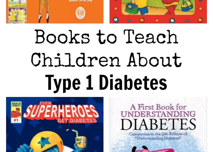 Books to Teach Children About Type 1 Diabetes #T1D @QuinnNystrom