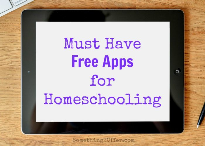 Must Have Free Apps for Homeschooling