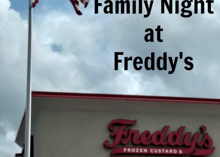 Family Night at Freddy's Frozen Custard & Steakburgers @FreddysUSA #ilovefreddyscinci #ad