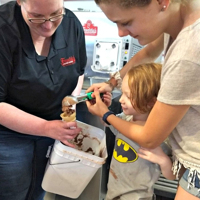 Freddy's Frozen Custard create your own