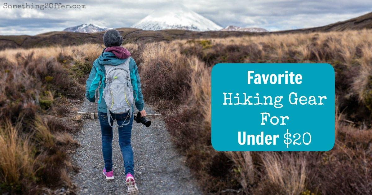 favorite hiking gear