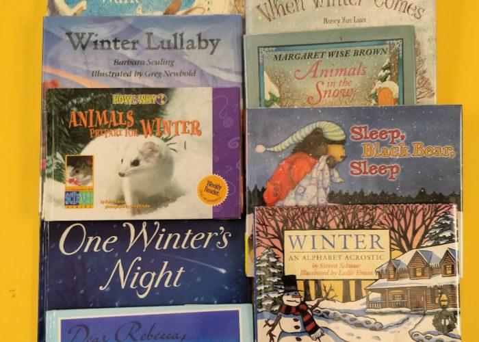 Winter Nature Books for Kids #booklist #naturestudy #NatureBookClub