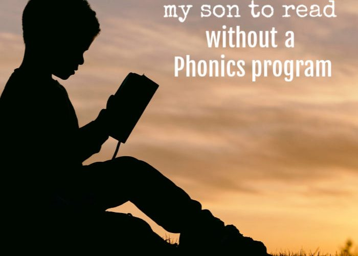 How I Taught My Son to Read